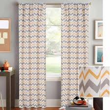 interiors awesome white grey and yellow curtains red gray
