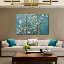 aquarell leinwand gemälde gogh apricot blume poster und drucke wand bilder für wohnzimmer wand kunst dekoration