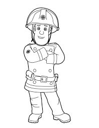 106 Dessins De Coloriage Sam Le Pompier à Imprimer