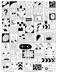 Free Adult Coloring Pages Doodlers Anonymous 2
