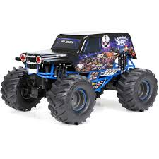 New Bright Monster Jam® Radio Control – GRAVE DIGGER® - Walmart.com New Bright Monster Jam Radio Control And Ndash Grave Digger Remote Truck G V Rc Car Jams Amazoncom 124 Colors May Vary Gizmo Toy 18 Rc Ff Pro Scorpion 128v Battery Rb Grave Digger 115 Scalefreaky Review All Chrome Scale Mega Blast Trucks Triangle By Youtube 1530 Pops Toys New Bright Big For Monster Extreme Industrial Co