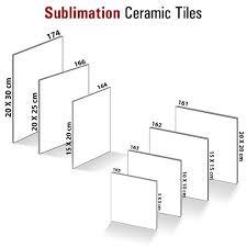 ceramic tiles sublimation blanks printed tiles uae