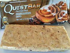 Quest Bar Cinnamon Rolls