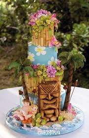 Hawaiian Wedding Cake Awesome Cakes 4