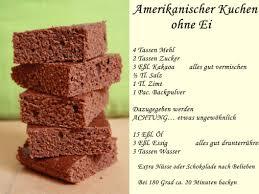 amerikanischer kuchen ohne ei kuchen ohne ei lebensmittel