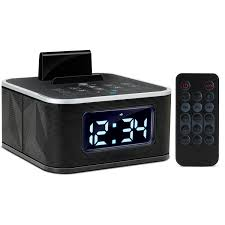 Ilive Under Cabinet Radio Set Time by Sylvania Scr1986bt As Bluetooth Clock Radio With Auto Set Dual