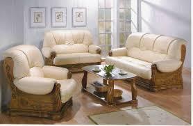 canap rustique canape rustique cuir et bois canapé idées de décoration de