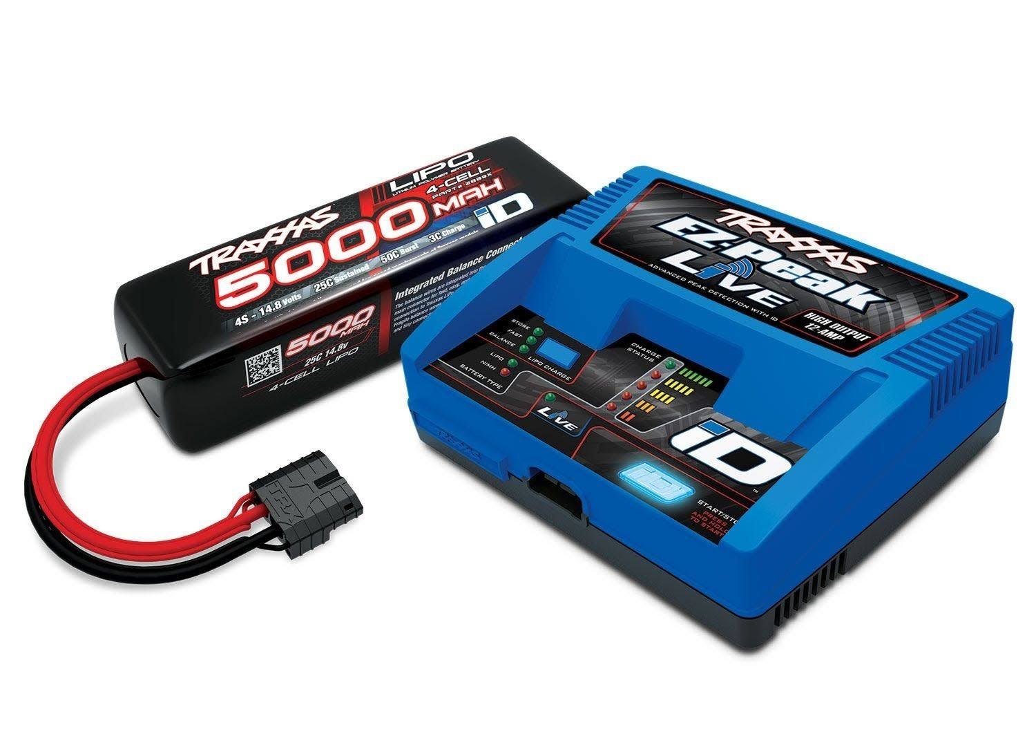 Traxxas TRA2996X Maxx Power 4S Lipo iDCharger/Battery Combo Pack