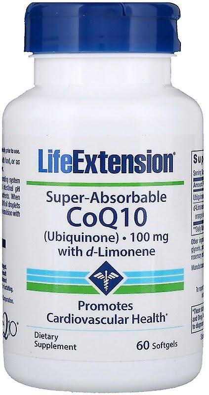 Life Extension Super-Absorbable CoQ10