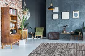 patchwork teppich design modern kasten muster wohnzimmer