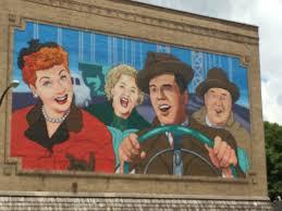 Allardt Tn Pumpkin Festival 2015 by World U0027s Largest I Love Lucy Mural Jamestown Ny 180 Out