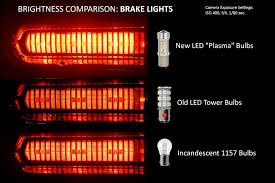 new 1157 plasma led taillight bulbs friggin bright