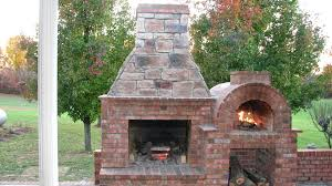 Outdoor Fireplace Designs S Brick With Pizza Oven Free