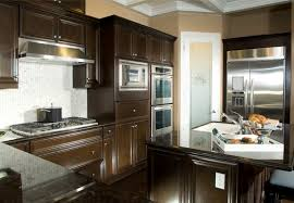 Fabulous Kitchen Backsplash For Dark Cabinets Fantastic Home Design Ideas With 52 Kitchens