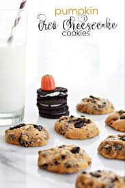 Libbys Pumpkin Cookies With Chocolate Chips by Pumpkin Oreo Cheesecake Cookies