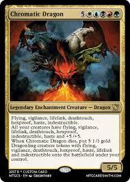 Mtg Lifelink Deathtouch Deck by Chromatic Dragon By Creditory Mtg Cardsmith