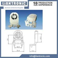 Non Shunted Lamp Holders Tombstones by G5 T5 Socket Holders For Fluorescent Tube Lights Lampholders