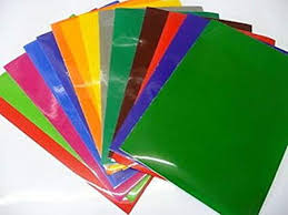 Self Adhesive Vinyl 10 Mixed Colour A4 Sheets Ideal For Craft Work Or Use With