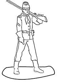 Civil War Coloring Sheets Glamorous Captain