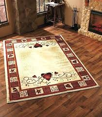 Rustic Star Decor Best Primitive Country Images On Bathrooms Bear Area Rug Ivy And Hearts Living