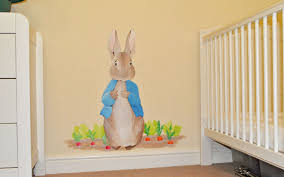 Wall Mural Decals Nursery by Bedroom Chic Peter Rabbit Bedroom Bedding Sets Favourite