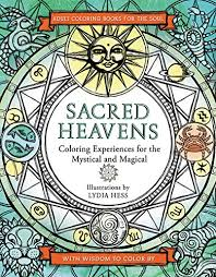 Sacred Heavens Coloring Books For The Soul