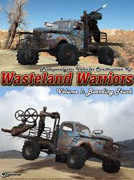Wasteland Warriors - Boarding Truck - Extended License 3D Models ...