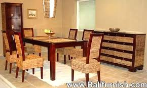 Wicker Dining Tables Rattan Table Chairs Furniture Sets Kijiji