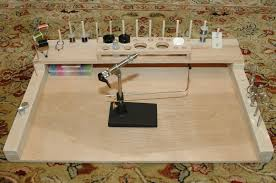 Fly Tying Table Woodworking Plans by Diy Fly Tying Bench From The New Guy Fly Tying Forum Surftalk