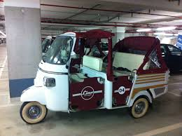 Piaggio Vespa APE Calessino Limited EDT 400 Tuk Tuk Food Truck Cart ...