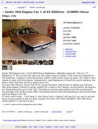 Denver Craigslist Car And Truck By Owner - The Car Database