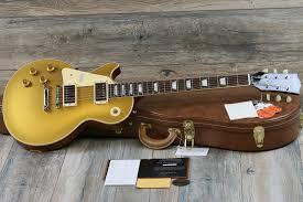100 Gibson Custom Homes Unplayed 2018 Lefthanded Shop Les Paul 1957 57 Reissue Goldtop W COAOHSC