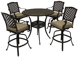 Patio Sets At Walmart by Patio Set With Swivel Chairs Rona Specialties Patio
