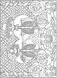 Dibujos Para Colorear El Dia De Los Muertos 2 Mas