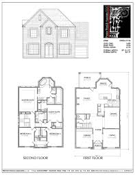 100 Picture Of Two Story House Plan D9054