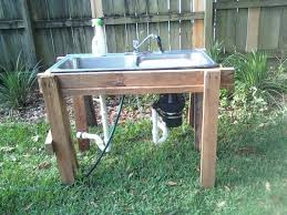 Fish Cleaning Station With Sink by Outdoor Garden Sink Station Plastic Outdoor Sink Station Plastic