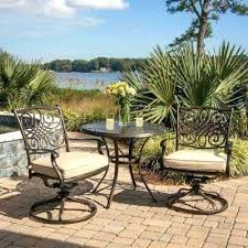 3 Piece Bar Height Patio Bistro Set by Wrought Iron Bistro Set U2013 Mobiledave Me