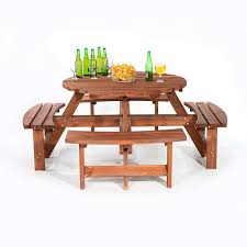 BrackenStyle Brown Picnic Pub Bench 8 Seater Round Wooden Garden ... Ding Room Bernhardt Buy 8 Seat Bar Pub Tables Online At Overstock Our Best Fniture Table Sets Mathis Ashley Dinette Inviting Ideas Seat Table 2 Trade Sales High Top Brilliant Kitchen Wooden Chairs And Amazoncom Asher Amada Patio Wood Pnic Beer Essentials Small Legionsportsclub 90 Round Mahogany Radial With Jupe Patent Action Brackenstyle Brown Bench Seater Garden