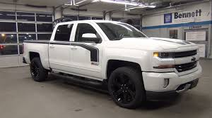 2017 CHEVROLET SILVERADO 1500 CREW RALLY SPORT | Bennett GM | New ...