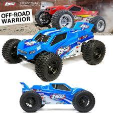 100 Stadium Truck NEW Losi 110 22S 2WD BL RTR WAVC BlueSIL FREE US