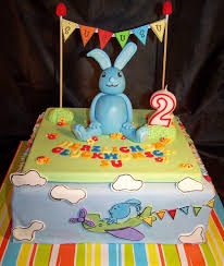 2 geburtstag cakes for