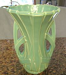 McCoy Strap Vase Vintage McCoy Pottery at More Than McCoy
