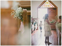 Relaxed Rustic Wedding In A Little White Chapel