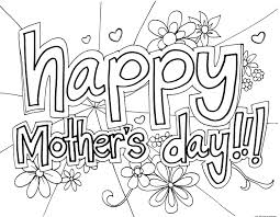 Mothers Day Clipart Black and White Free Download