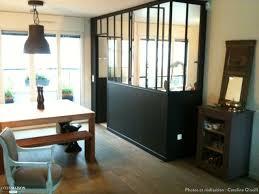 cuisine et maison création d 039 une verrière entre la cuisine et le living