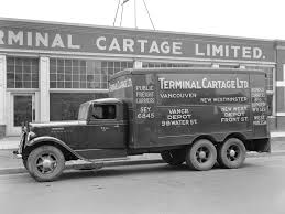1936 International Harvester CS-35-T Delivery Truck