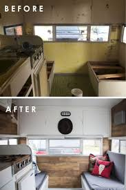 Easy RV Remodels On A Budget 45 Before And After Pictures 0823