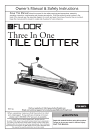 harbor freight tile saw manual harbor freight tools flooring tools 3 in 1 heavy duty tile cutter