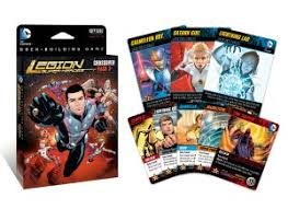 the legion of super heroes is out now for the dc comics deck