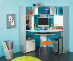 bureaux avec rangement bureau pour ado poste informatique et espace de travail pour